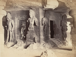 Elephanta - The Linga Shrine or Garbha